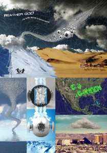 WEATHER G.O.D. (GLOBAL OMNI-CLIMATE) DEVICE BY CHANTALE MARTIN AND TRAVIS TABAK
