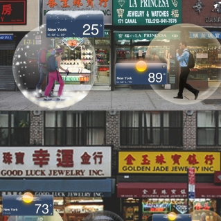 WEATHER BUBBLE BY CHANTALE MARTIN AND TRAVIS TABAK
