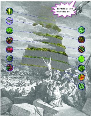 TOWER OF BABEL BY FELIKS BOCHENEK
