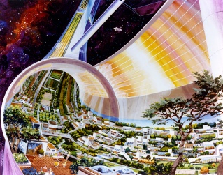 SPACE SETTLEMENTS © NASA AMES RESEARCH CENTER