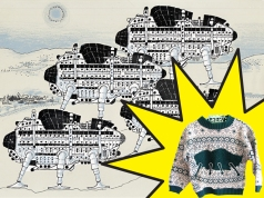 I need this Archigram Walking City Sweater!