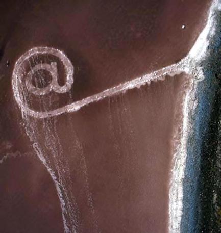 #FF @Spiral_Jetty - Robert Smithson