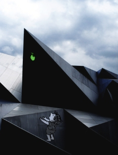 The Giving Shard: Inspired by Black Faceted Geometry