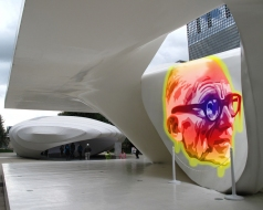 Vintage GraffitiLab: UNstudio's Homage to Corb