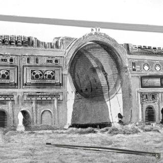 "BEST REDEFINED CTESIPHON RUIN 1864: ""CASSETTE PLAYER RUIN"" BY RAJIV FERNANDEZ"