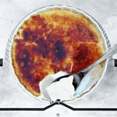 "HONORABLE MENTIONS: THE BEST PUN AWARD: ""ÉTIENNE BRÛLÉE"" BY JACKIE WOON BAE AND TRACEY COFFIN"