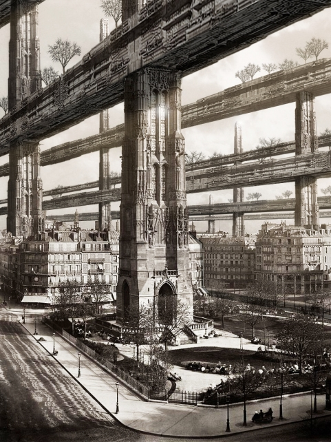 "BEST OVERALL IMAGE: ""H. FERRISS'S PARIS VISIT"" BY FRANCISCO VILLEDA"