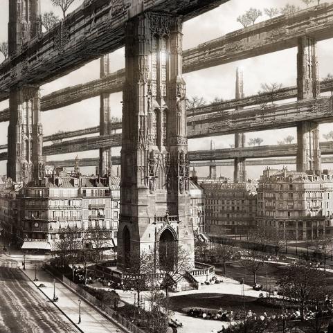 "BEST OVERALL IMAGE: ""H. FERRISS'S PARIS VISIT"" BY FRANCISCO VILLEDA"