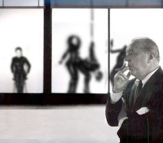 """HONORABLE MENTIONS: THE WISH THIS WAS REAL AWARD: """"MIES CONTEMPLATES THE CHICKEN OR THE EGG"""" BY ROB ANDERSON"""