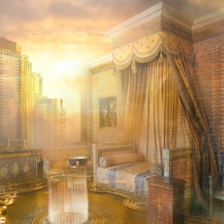 "MOST BEAUTIFUL / I WANT TO LIVE THERE FOREVER BUT I DON'T KNOW AT WHAT SCALE!!!! AWARD: ""STYLE EMPIRE"" BY ALEXANDER MENKE"
