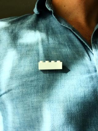 Lego Wall Pin (RC Swag)