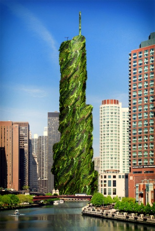 """Honorable Mention: """"Chicago's Greenwall Pride"""" by Jenna Hertz"""