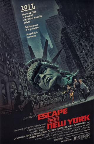 """Honorable Mention: """"Escape from New York"""" by Oscar Turique"""