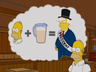 """""""Homer Trump For President"""" - Anonymous Entry"""