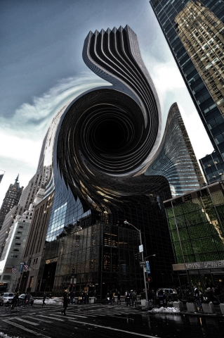 """Localized Black Hole"" by Greg Lutz"