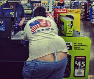 """Honorable Mention: """"We, The People of Walmart, Got Your Back, Donny"""" by"""