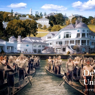 """DeVos Island"" by Emily Johnson"