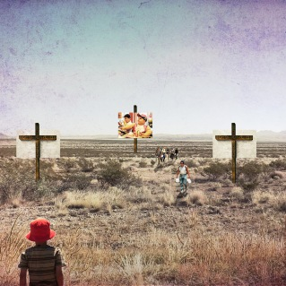 "Honorable Mention: ""Scare Immigrants"" by Ernesto Preciado"
