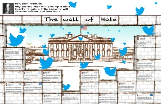 """The Wall of Hate"" by Babak Talai"