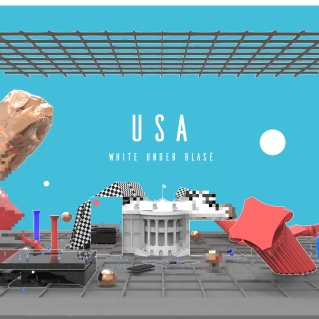 """White Under Blasé"" by Jaime Rivera"